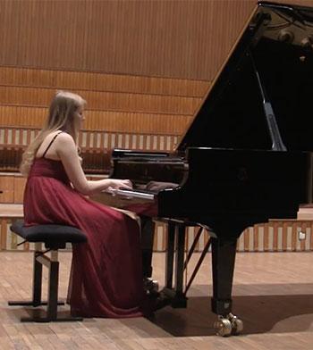 Watch Klaudia perform Bacewicz Piano Sonata